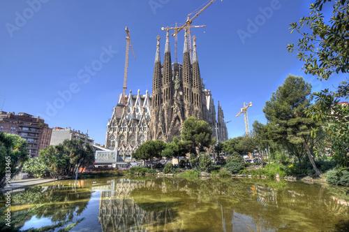 La Sagrada Familia Cathedral, Barcelona - 96833465