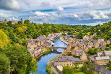 Historic Town Of Dinan, Bretagne, France