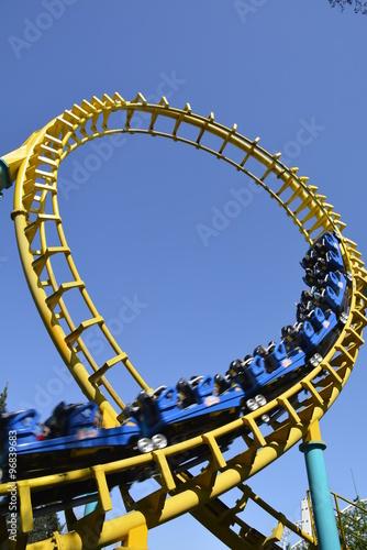 Staande foto Amusementspark Amusement park in Santiago, Chile