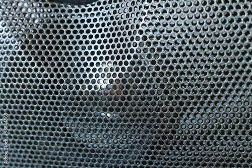 audio speaker Canvas Print