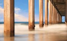 Underside Of A Pier In San Die...