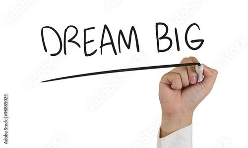 Photo  Dream Big Concept
