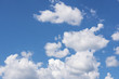 Nice blue sky with cloud background.