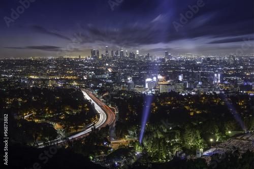 Zdjęcie XXL Centrum Los Angeles wychodzą