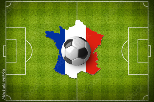 Photo  Concept for Euro 2016 France football championship