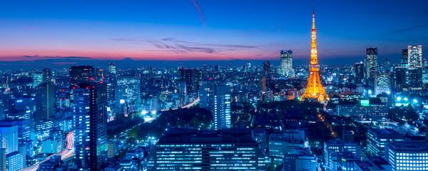 Tokyo Tower, Tokio, Japonia