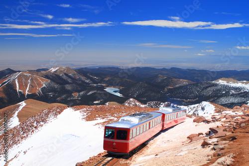 Fotobehang Antarctica Pikes Peak Train
