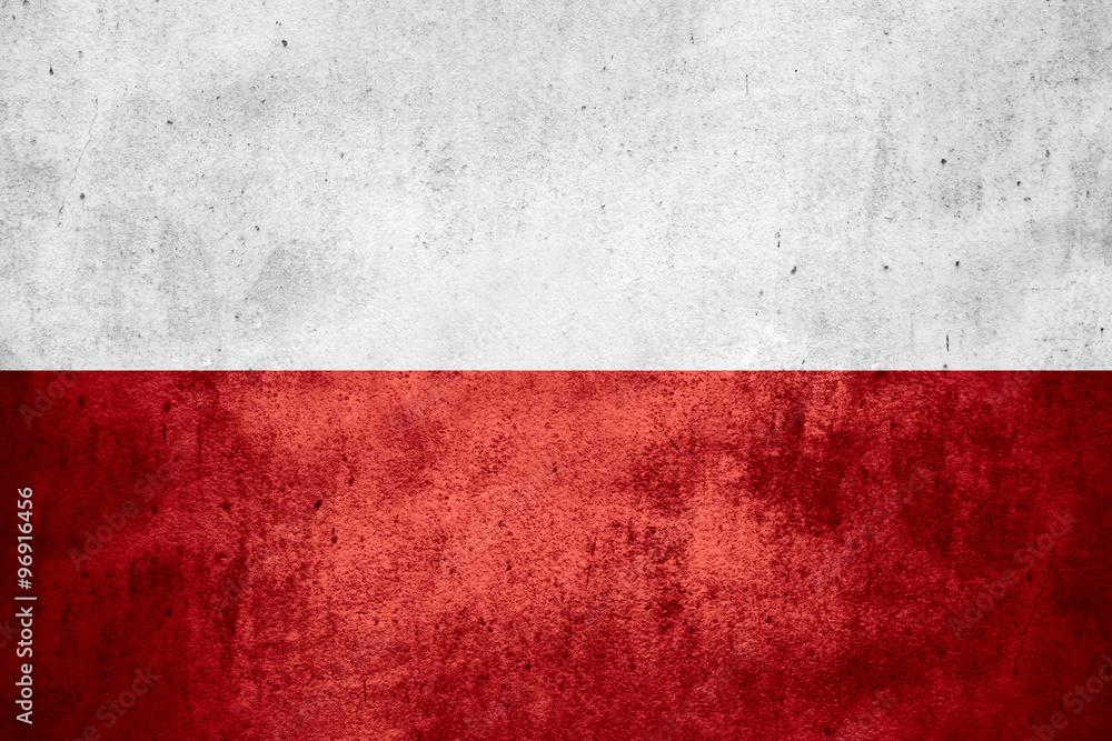 Fototapety, obrazy: flag of Poland