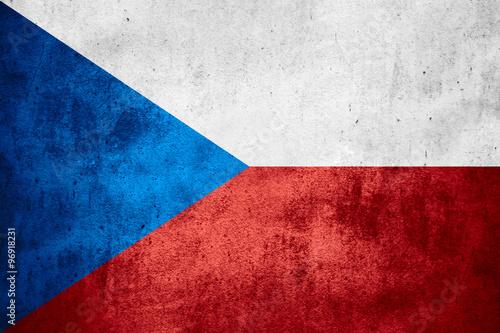 Fototapeta flag of Czech Republic