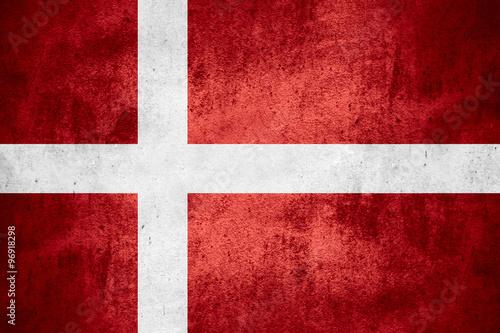 flag of Denmark Fototapete