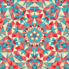 Kaleidoscope Geometric Colorfu...