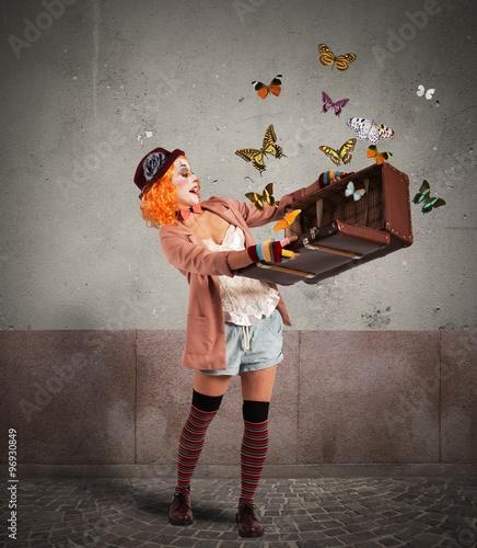 Photo  Magic suitcase
