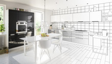 Black & White In The Kitchen (project)