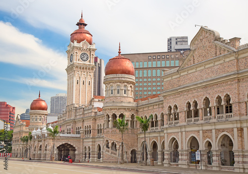 Photo Stands Kuala Lumpur Sultan Abdul Samad Building