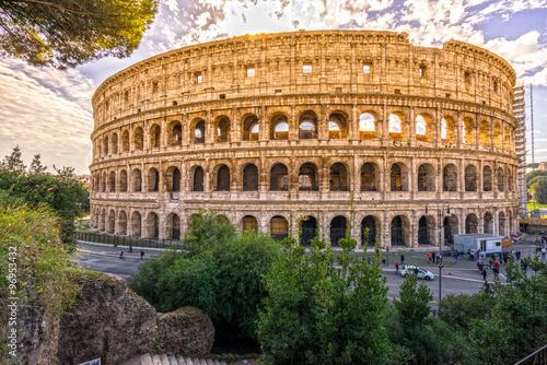 Rome, Coliseum. Italy. Canvas Print