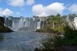 アルゼンチン側のイグアスの滝