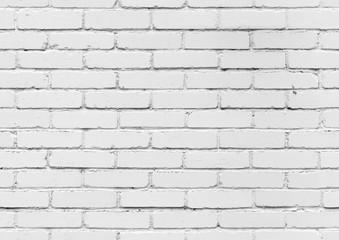 fototapeta biały mur z cegły  tekstury tła