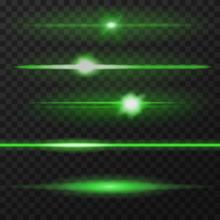 Green Lens Flares