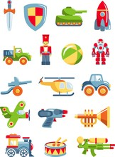 Set Of Toys For Boys