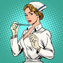High Temperature Disease Nurse Thermometer