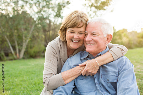 Fotografie, Obraz  Mature senior couple