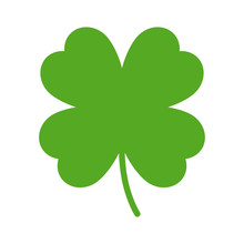 Good Luck Four Leaf Clover Fla...