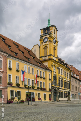 Photo  Town hall in Cheb, Czech republic