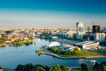 Cityscape Of Minsk, Belarus. S...