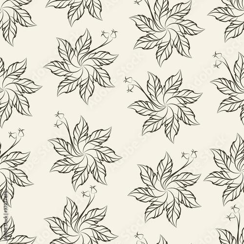 Seven-Petal Crochet Flower Pattern, vector illustration – kaufen Sie ...