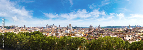 Canvas Prints Rome Panoramic view of Rome