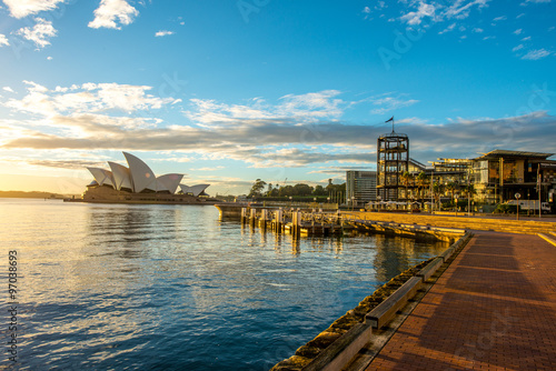 plakat SYDNEY, AUSTRALIA - MAY 11: Sydney Opera House Iconic of Sydney