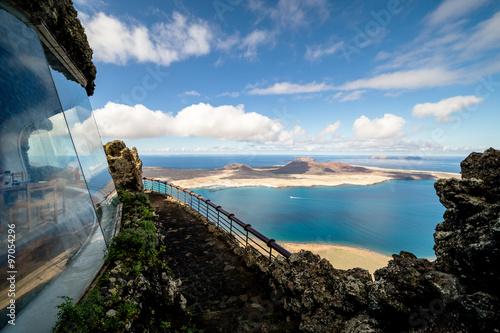 Fotoposter Canarische Eilanden Mirador del Rio