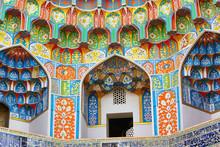 Main Portal Of Kalyan Mosque, Bukhara, Uzbekistan