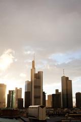 Frankfurt, rainy, sunny, cloudy