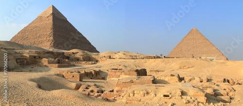 Die Pyramiden und Sphinx von Gizeh in Ägypten  #97066200