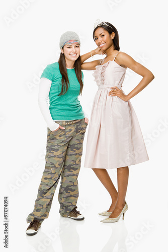 Fototapeta Skater and prom queen