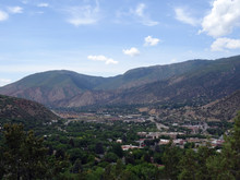 Aerial View Of Glenwood Spring...