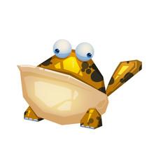 Illustration: The Frog Monster...