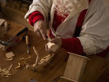 Santa Claus At Home