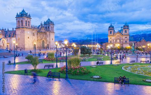 Photo  The Cathedral in Cusco, Peru