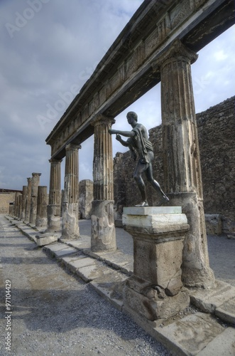 Garden Poster Napels Pompeii in Italy
