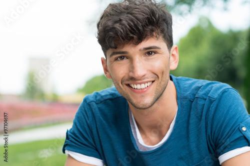Photo  Happy guy