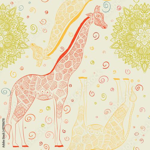 Beautiful adult Giraffe Poster