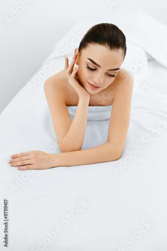 Leinwand Poster  Schönheit Frau