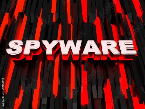 Fotografía  Spyware background