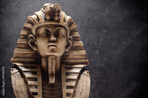 Door stickers Egypt Stone pharaoh tutankhamen mask
