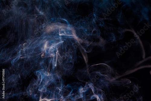 white abstract smoke - 97141886