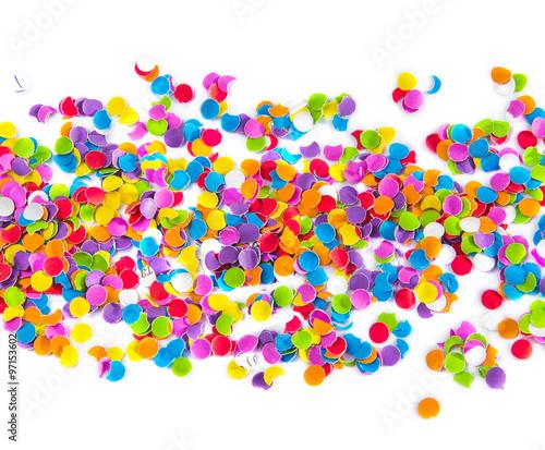 Fototapeta Colorful confetti. obraz na płótnie