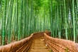 canvas print picture - Kyoto, Japan Bamboo Forest