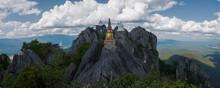 Wat Prabaht Puu Pha Daeng, Lampang, Thailand